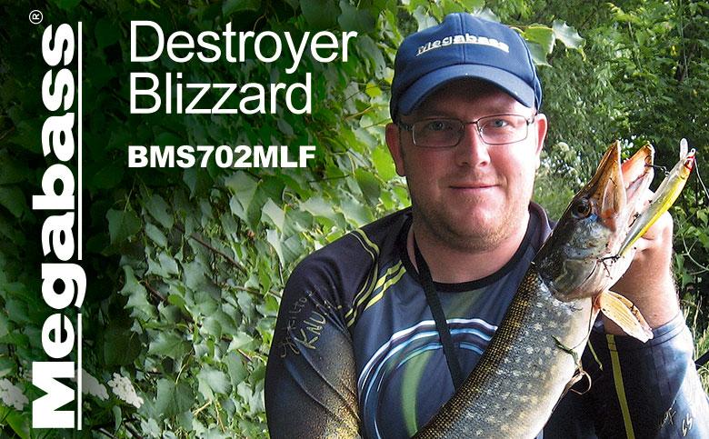 megabass destroyer blizzard bull barrel bbbs712mlmt