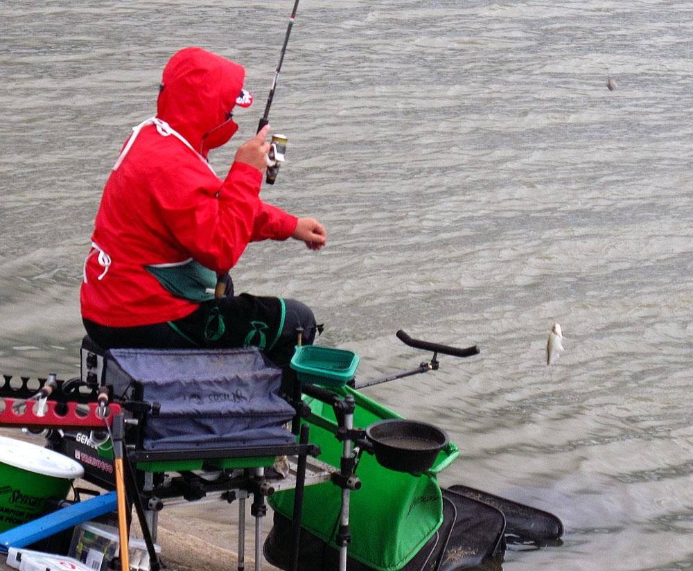 техника рыбалки фидером