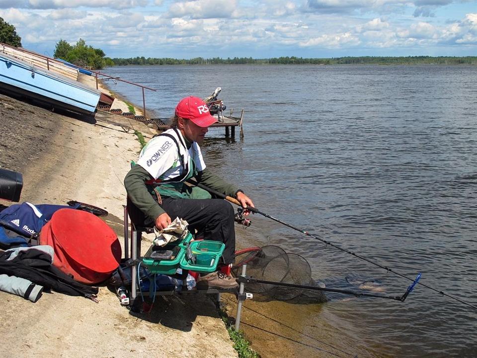 рыбалка в сосенском