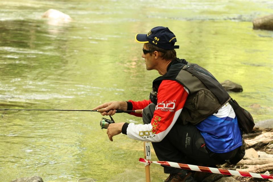 чемпионат мира по ловле спиннингом с лодки 2014