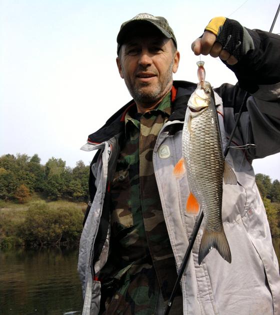 Спиннинговая рыбалка на оке