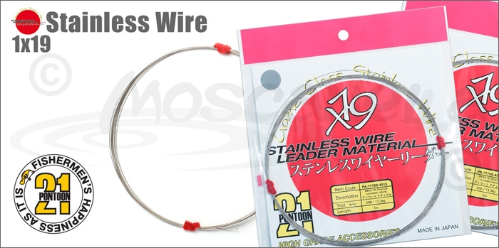 Изображение Pontoon21 Stainless Wire 1x19