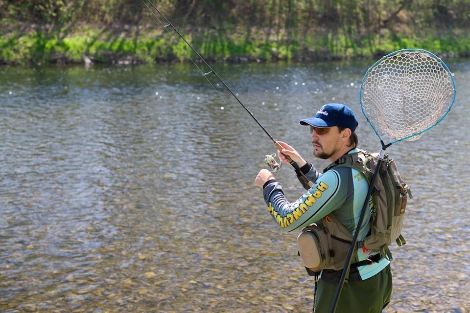 для форелевой рыбалки