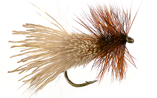 Trump HAIR WING & DEER BODY DRY FLIES