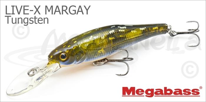 Изображение Megabass LIVE-X MARGAY TUNGSTEN