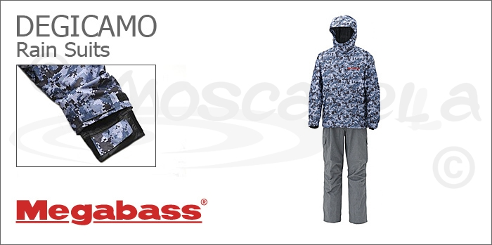 Изображение Megabass Degicamo Rain Suits