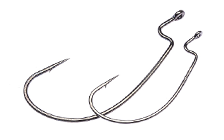 Owner/C'ultiva 5109BC J-Light Worm Hook